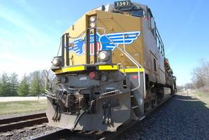 Union Pacific Railroad Loc weighing 416,000 pounds
