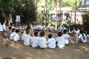 1000 shirts given to Israeli scouts with 4 safety rules on the (...)